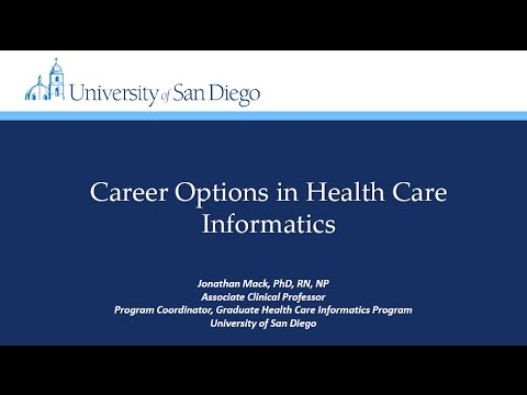 [Webinar] Career Options in Health Informatics