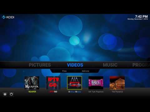 HOW TO: KODI HOME SCREEN SHORTCUTS YOUR FAVORITE ADD-ONS IN ONE PLACE