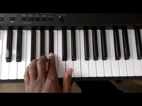 Major Scales: How to Play F Major Scale on Piano (Right and Left hand)