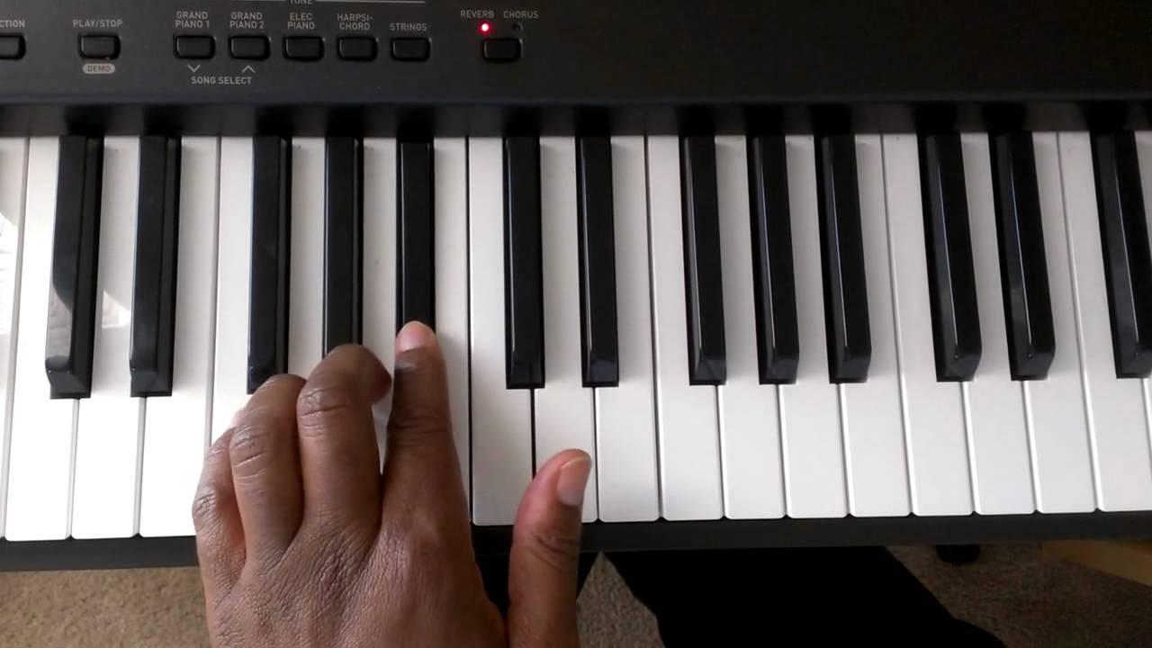 B Flat Chord Piano Left Hand maxresdefault.j...