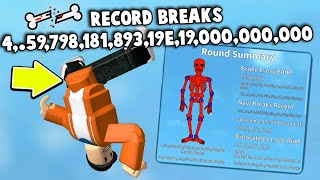 LAZARBEAM Took My HIGH SCORE In Roblox Broken Bones... (and I want it back...)