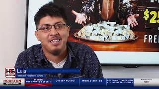 Luis Plays Fox Bet Super 6 and Wins $250,000 from Terry Bradshaw! screenshot 3