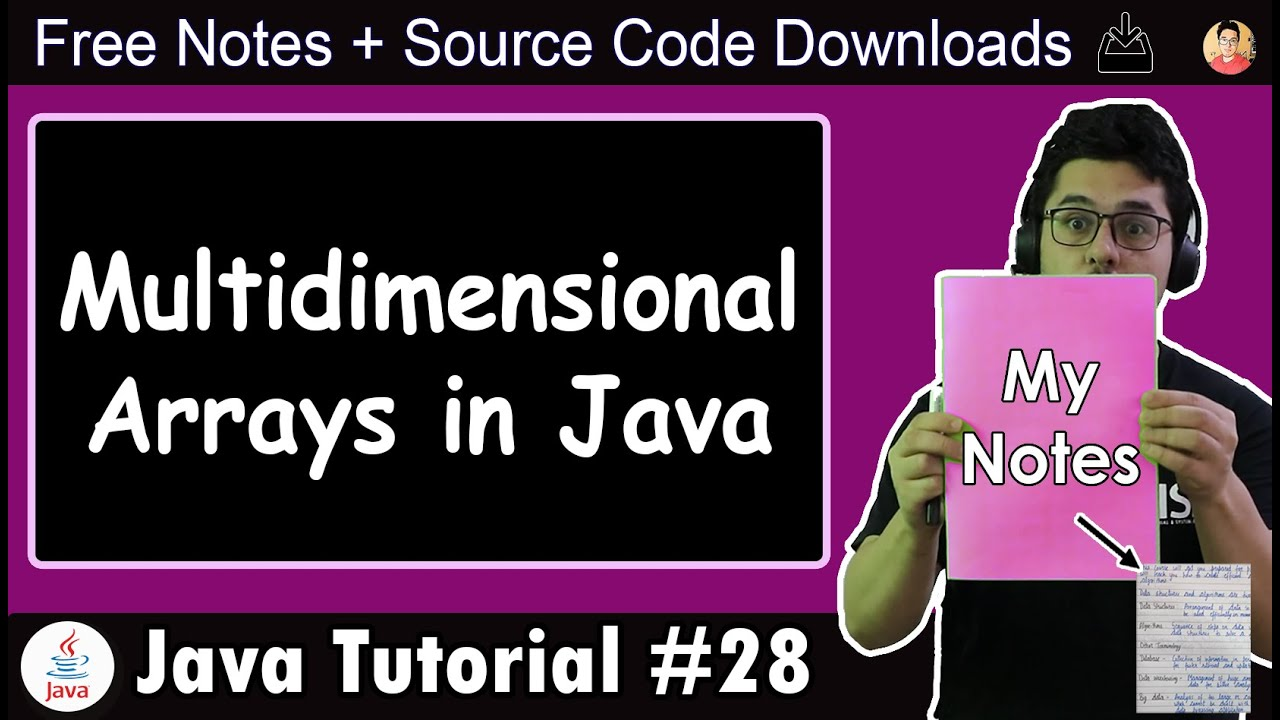 Java Tutorial: Multidimensional Arrays in Java