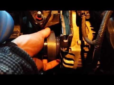 Замена ремня дополнительного оборудования на Kia New Ceed JD