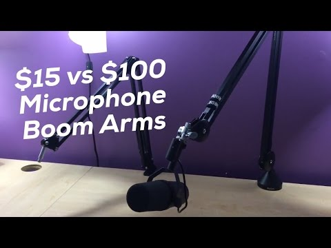 Rode PSA1 Microphone Boom Arm Comparison and Review