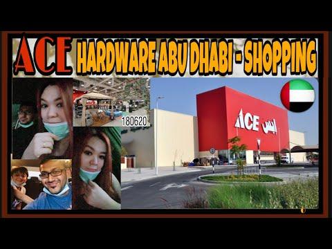 ACE HARDWARE ABU DHABI - YAS ISLAND || PASALUBONG SHOPPING || TSV 176