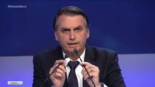 Boulos pergunta a Bolsonaro quem é