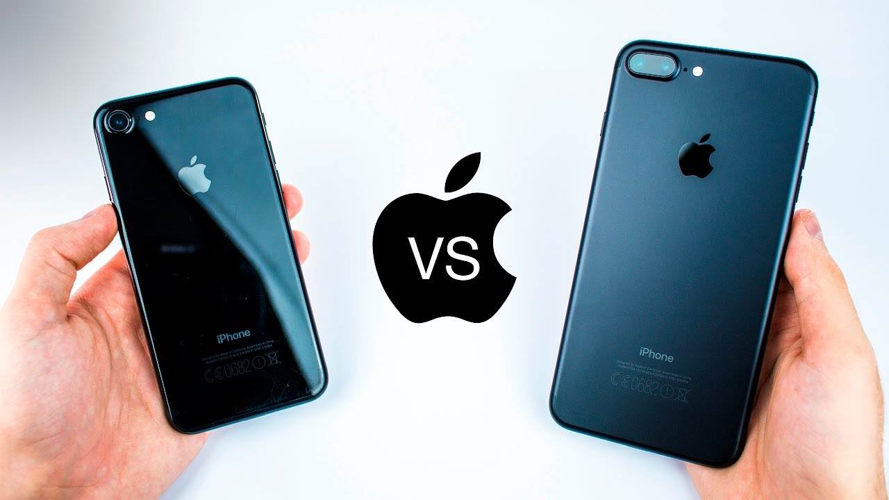 iPhone 7 VS 7 Plus - Jet Black VS Matte Black - Durability & Scratch  Review! (after 3 Months) - YouTube