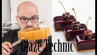 Antonio Bachour Skill Glaze Cake Decoration Tutorial -- The Best Gallery Award