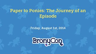 Paper to Ponies: The Journey of an Episode