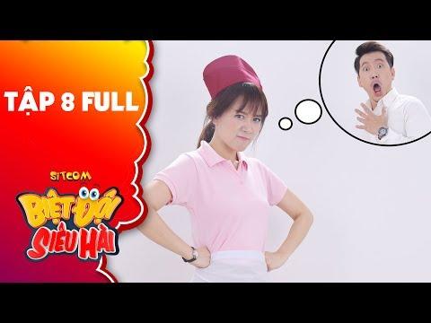 """Biệt đội siêu hài   Tập 8 full: Hari Won """"đau đầu"""" với tính đào hoa, lăng nhăng của Pompatama"""