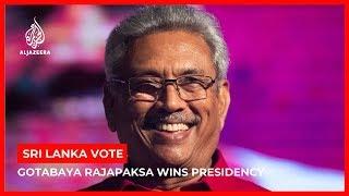 Sri Lanka vote: Rajapaksa wins presidency as Premadasa concedes