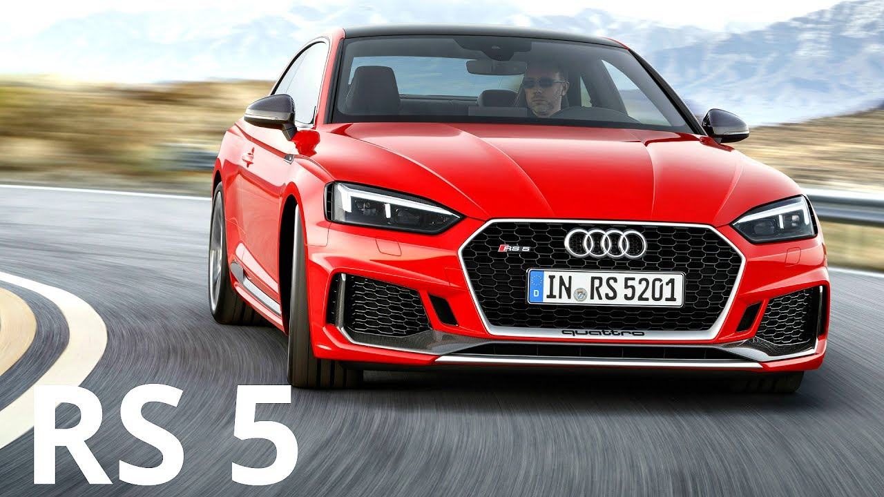 2017 Audi Rs 5 Coupe 0 100 Km H Acceleration 450 Hp Engine Sound