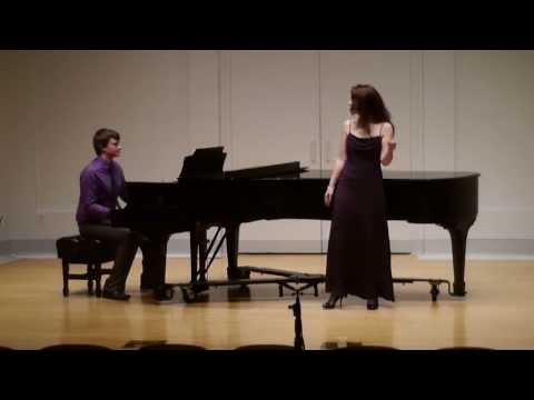 George Gershwin - The Man I Love - Audrey Escots, Soprano.