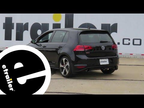 EcoHitch Hidden Trailer Hitch Installation - 2017 Volkswagen Golf - etrailer.com