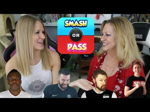 MY MOM DOES SMASH OR PASS W/ SIDEMEN / FIFA YOUTUBERS!