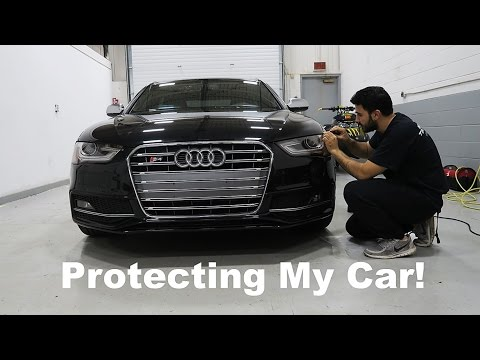 How To Protect Your Car From Rock Chips!