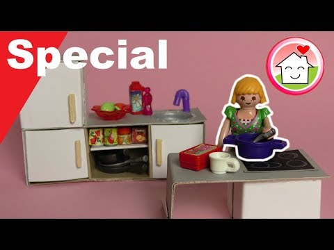 playmobil deutsch pimp my playmobil k che selber machen diy family stories youtube. Black Bedroom Furniture Sets. Home Design Ideas
