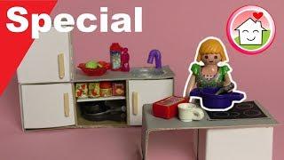 Playmobil deutsch - Pimp my PLAYMOBIL - Küche selber machen - DIY Family Stories