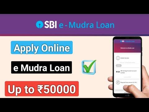 How To Apply SBI E Mudra Loan | Sbi E Mudra Loan Basic Details | Mudra Loan For Business