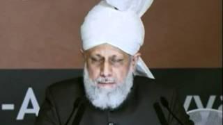 Sondersitzung Hadhur e Aqas National Ijtema 2011 Atfal ul Ahmadiyya Deutschland