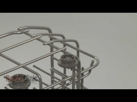 Lower Dish Rack Roller - LG Dishwasher
