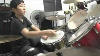 Kid drummer  Jeff Beck  Scatter Brain  cover THE SUB-STUFF