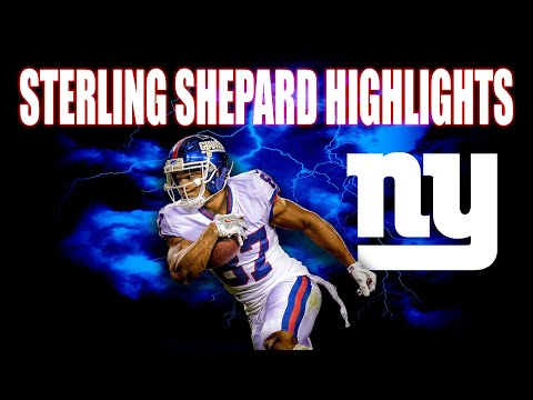 NY Giants: Sterling Shepard's 2019 Highlights