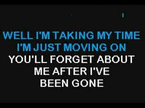 Boston Long Time Karaoke Version