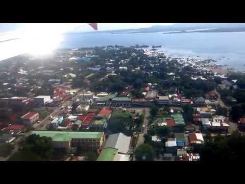 Landing at Puerto Princesa International Airport