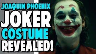 Joaquin Phoenix Joker Costume REVEALED!