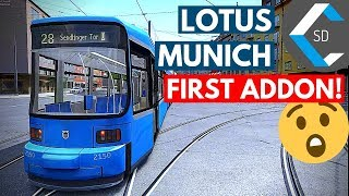 LOTUS SIMULATOR | München Tram Linie 28 | Gameplay No Commentary