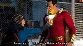 Henry Cavill on Who Would Win In a Batman V Superman V Shazam Fight