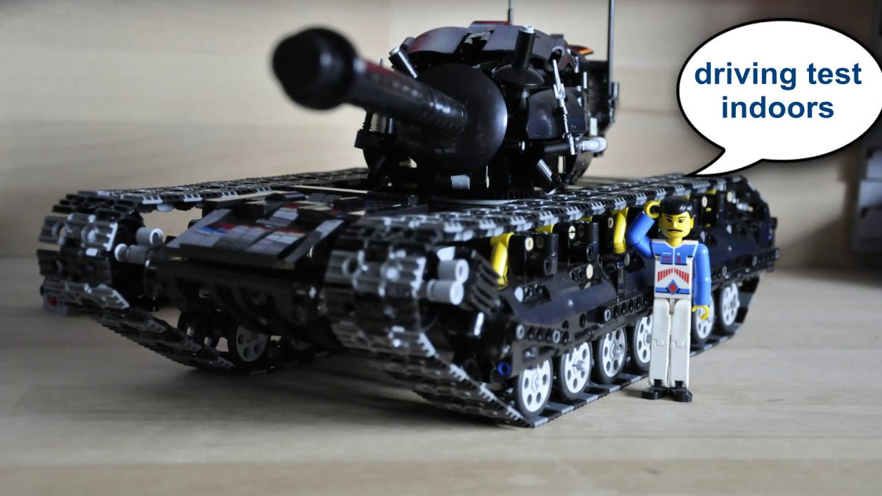 lego technic tank youtube. Black Bedroom Furniture Sets. Home Design Ideas