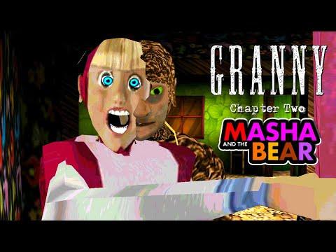 10 смешных моментов в  Гранни 2 ► Мод Маша и Медведь ► Granny: Chapter Two