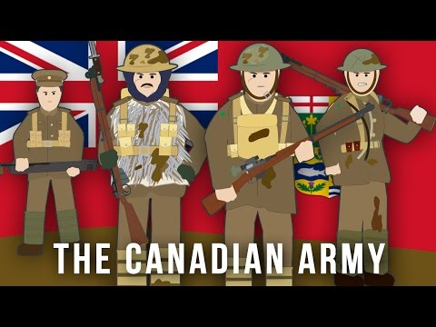 WWI Factions: The Canadian Army