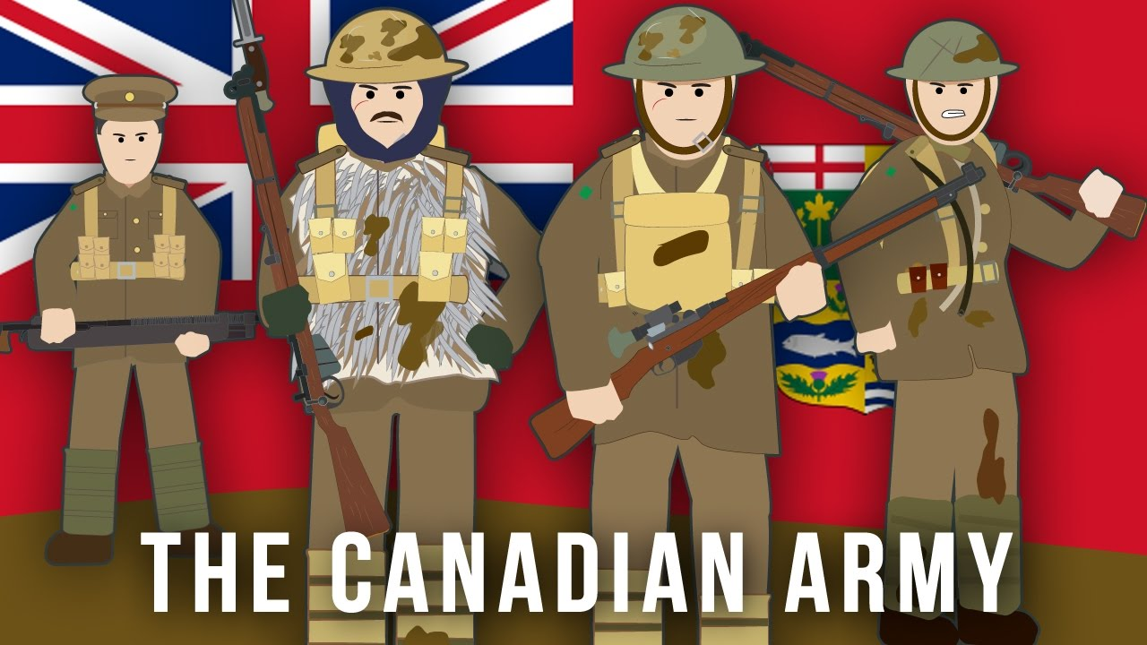 Wwi Factions The Canadian Army Youtube