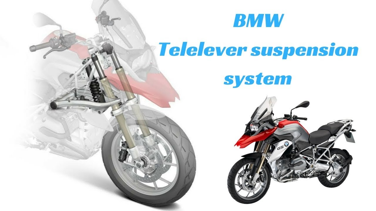 Working of The Telelever Suspension In BMW R1200GS