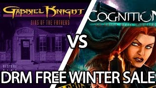 DRM FREE WINTER SALE: Gabriel Knight vs. Cognition