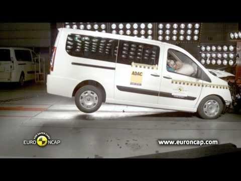 ФИАТ Скудо (FIAT Scudo) 2012 краш-тест EURONCAP (HD)