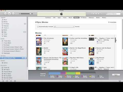 How to Transfer MP4 Files to iPad