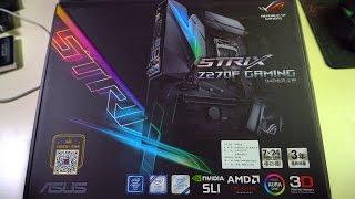 Собираем Китайский Компьютер #9 ASUS STRIX Z270F GAMING - мощное и убойное чудовище среди всех мамок