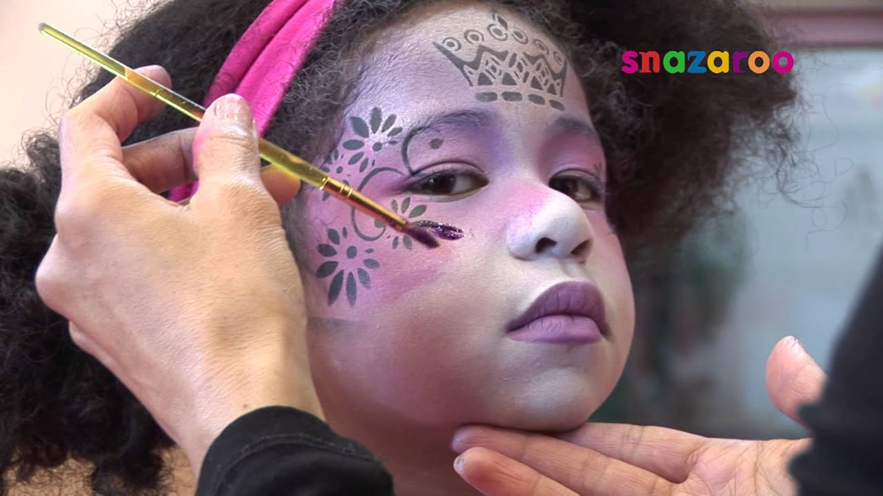 Snazaroo  pas à pas maquillage Princesse des îles