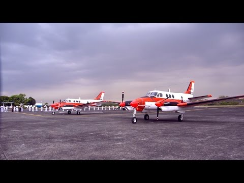 VLOG: PH Navy welcomes 2 TC90 trainer aircraft from Japan