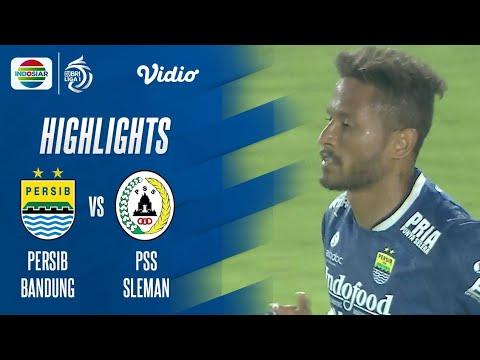 Highlights - Persib Bandung VS PSS Sleman | BRI Liga 1