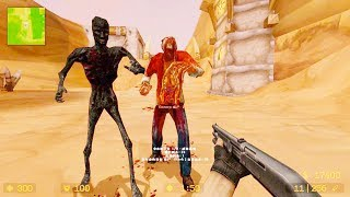 Counter Strike Source - Zombie Horde Mod Online Gameplay on cs_horde_v1 map