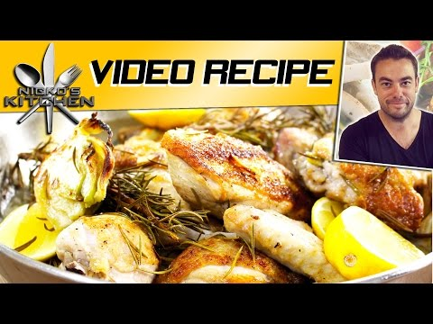 Pan Roasted Chicken | Nicko's Kitchen