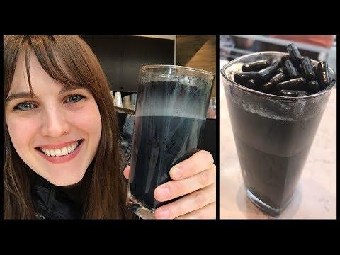 Black Latte черный угольный кофе Латте для похудения, отзывы