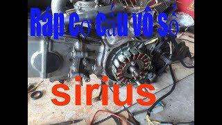 Sửa xe Cùi Bắp_Ráp cơ cấu vô số cho xe máy Yamaha _ Sirius