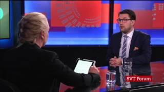 Jimmie Åkesson Briljerar i Rakt På 2015-11-25